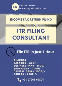 Income Tax Return Filing consultant in Ahmedabad
