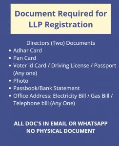 LLP Registration Consultant in Ahmedabad