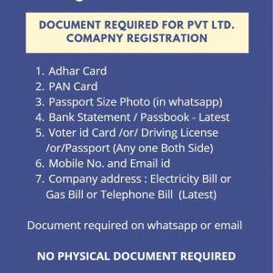 pvt ltd company registration in ahmedabad