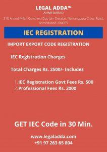 IEC Code Registration Consultant