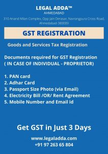 GST Registration Consultant in Ahmedabad