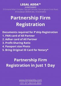 Partnership Firm Registration Consultant
