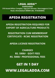 APEDA Registration RCMC