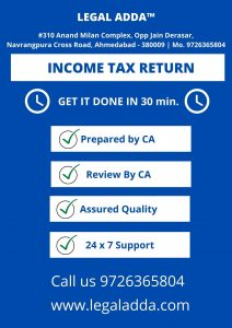 Income Tax Consultant in Ahmedabad