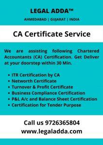 CA Certificate Service Near you