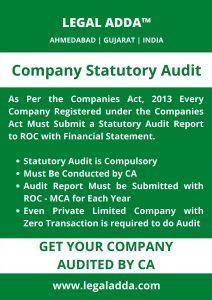 Company Statutory Audit CA in Ahmedabad