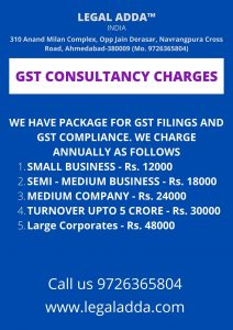 GST Return Consultant in Ahmedabad