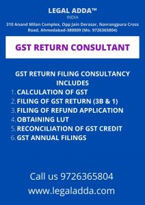GST Return Filing Consultant Near to Me