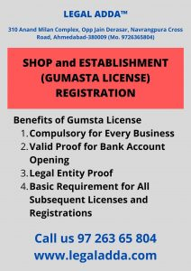 Gumasta Registration Consultant in Ahmedabad
