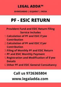 PF ESIC Return Consultant Near me