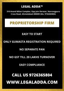 Proprietorship Firm Registration Consultant