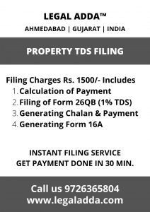 TDS Consultant for Sale of Immovable Property