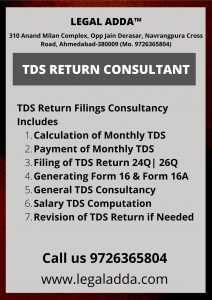 TDS Return Consultant in Ahmedabad