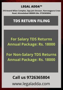TDS Return Filing Consultant Near you