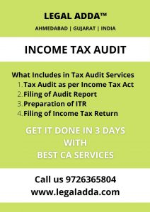 Tax Audit Service in Ahmedabad