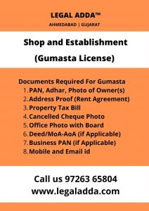 Shop & Establishment Registration Consultant in Ahmedabad